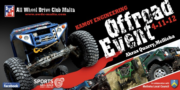 Offroad Event at L-Ahrax Quarry Mellieha