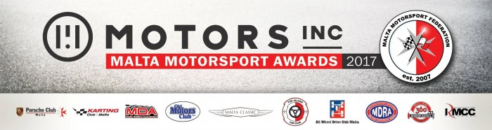 Motors Inc Malta Motorsport Awards 2017