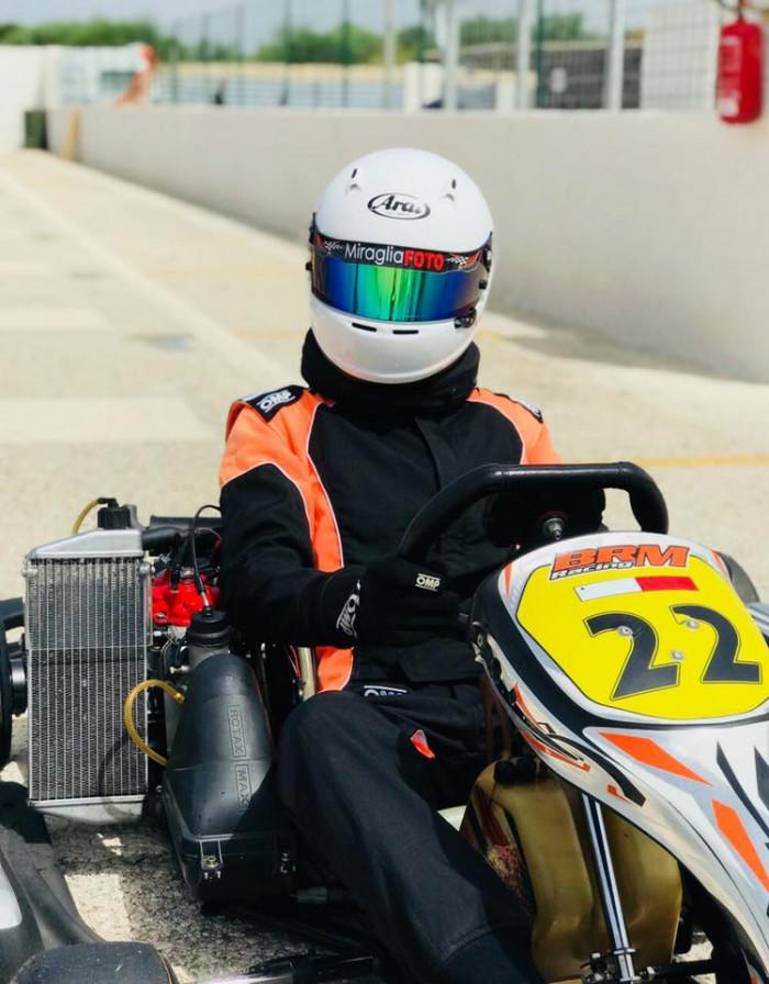 Nicky Gauci is at Adria International Raceway