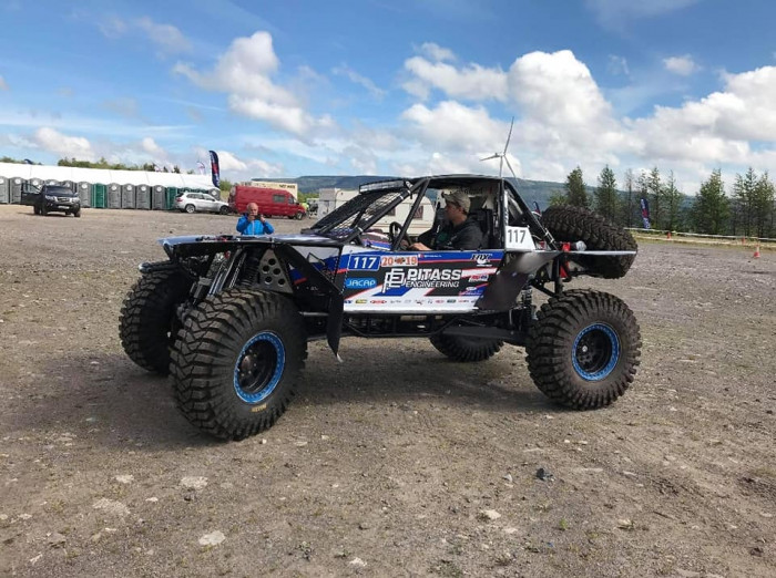 Pitass Engineering Off-Road Racing Team finishes 2nd at Welsh One50