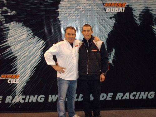 Gianluca Dingli BRM Racing Driver