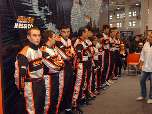 Gianluca Dingli with other official drivers