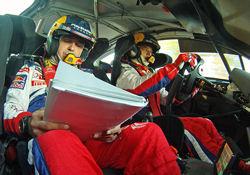 Sébastien Loeb and Co-driver Daniel Elena are the No. 1 of the IRDA World Rally Ranking