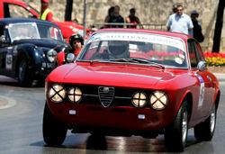 Alfa Romeo participating in the Valletta Grand Prix 2010