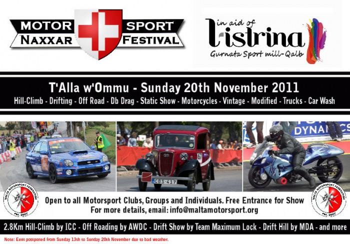 Naxxar Motorsport Festival 2011