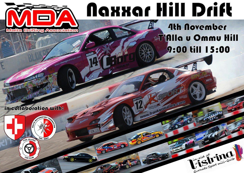 Naxxar Drifting – in aid of l-istrina 2012