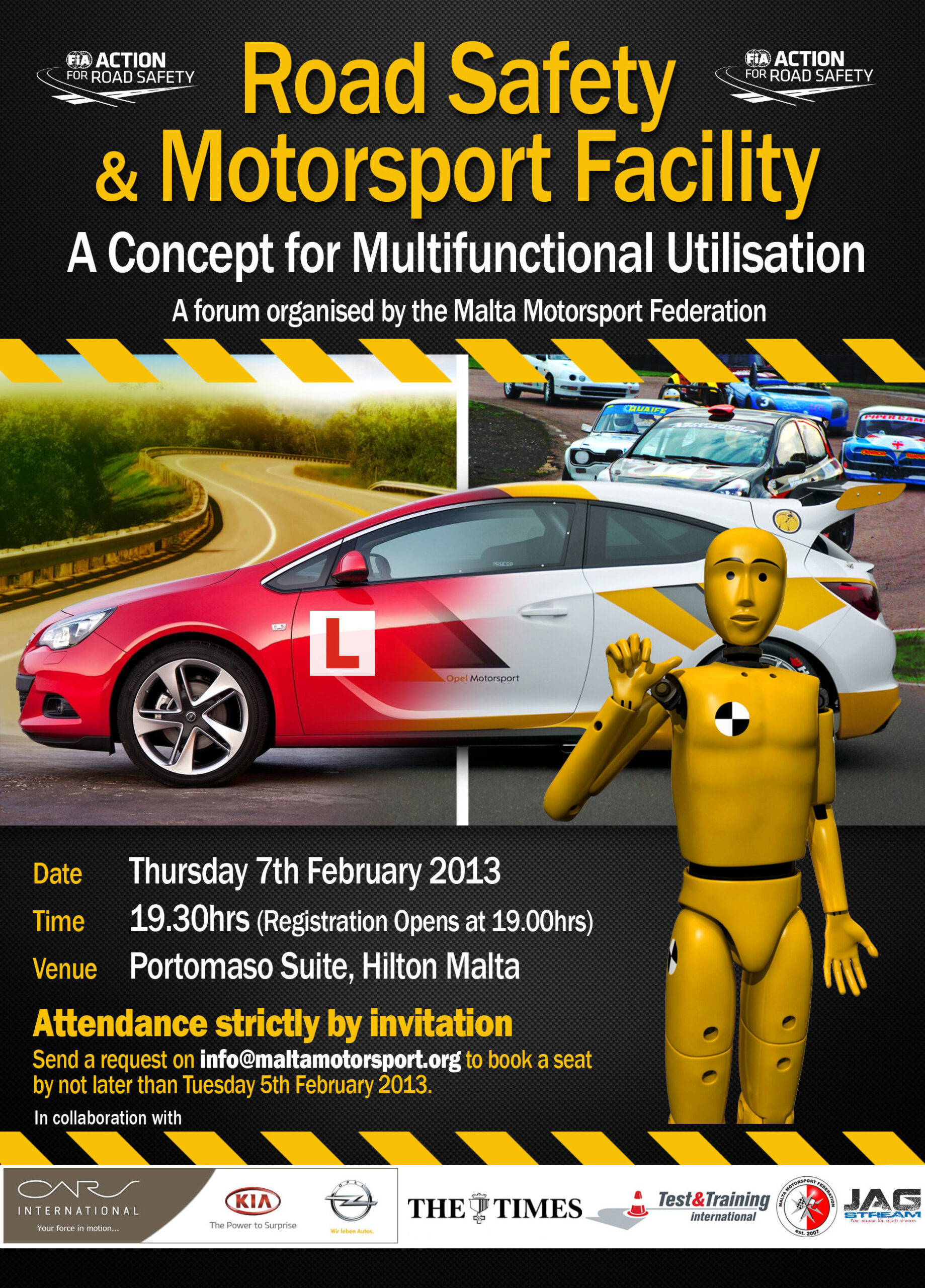 Road Safety and Motorsport Forum