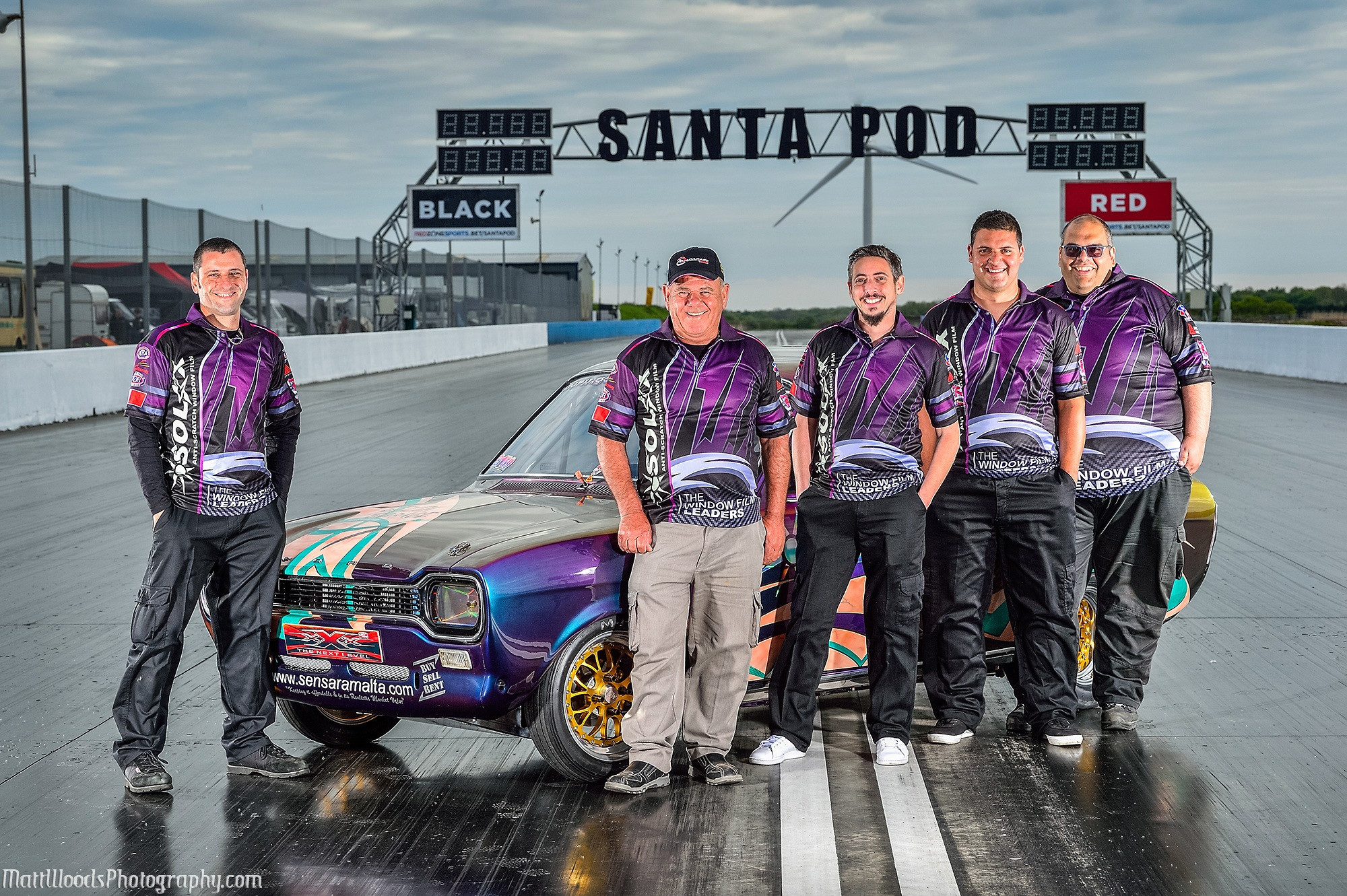 A Positive Experience for Rosello Cassar and Paul Fenech at Santa Pod