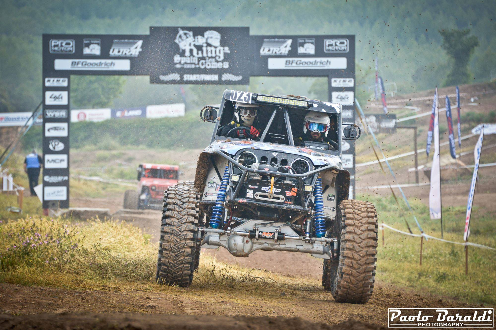Neville Ciantar finishing 5th at Les Comes in Spain