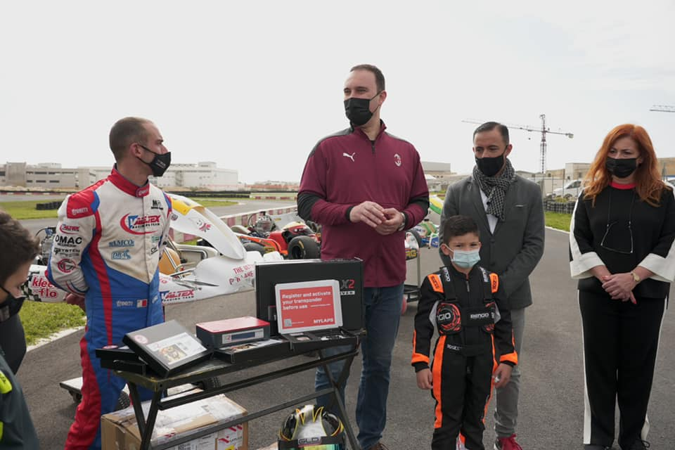 New timing equipment presented at Motorsport event